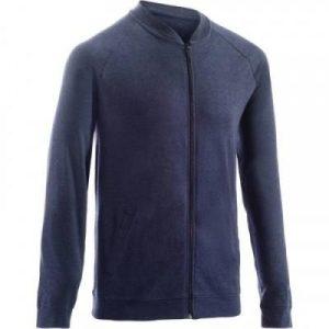 Fitness Mania - 100 Hooded Gym & Pilates Jacket - Dark Blue