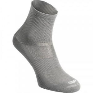 Fitness Mania - Adult Running Socks 2 Pack High Comfort - Grey