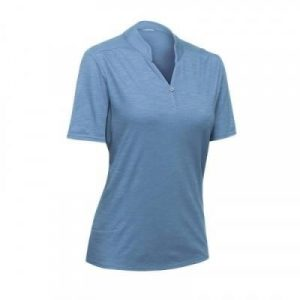 Fitness Mania - Travel 100 Women's Polo Shirt - Blue