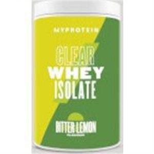 Fitness Mania - Clear Whey Isolate - 20servings - Bitter Lemon