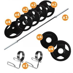 Fitness Mania - 195kg Barbell & Weights Pack