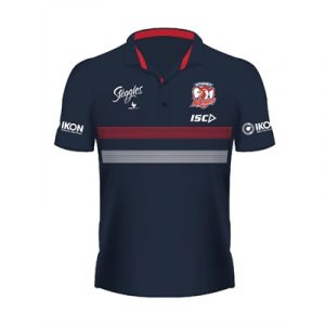 Fitness Mania - Sydney Roosters Kids Performance Polo 2020