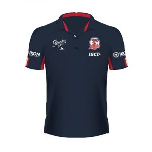 Fitness Mania - Sydney Roosters Performance Polo 2020