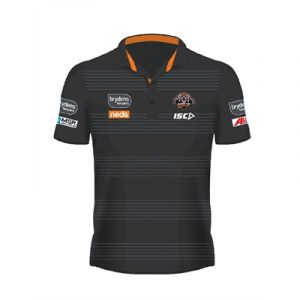 Fitness Mania - Wests Tigers Kids Performance Polo 2020