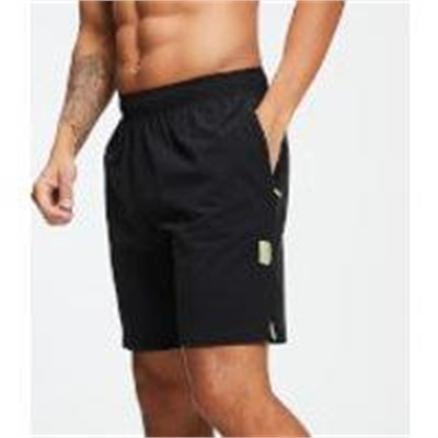 Fitness Mania – MP Training Men's Stretch Woven 9 Inch Shorts – Black – M