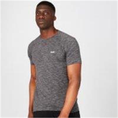 Fitness Mania – Performance T-Shirt – Black Marl – XS