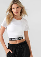 Fitness Mania – Athletic Cropped Seamless Tee
