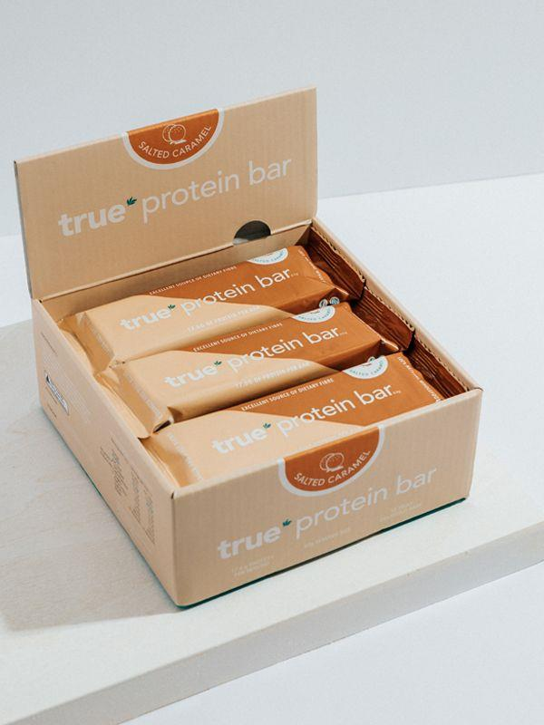 Fitness Mania – BOX OF 12 – PROTEIN BAR [Flavour: Salted Caramel] [Size: 12 Bar Box]