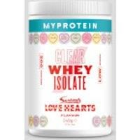 Fitness Mania - Clear Whey Isolate – Swizzels Edition  - Love Hearts