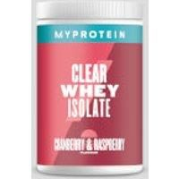 Fitness Mania - Clear Whey Isolate - 20servings - Cranberry & Raspberry