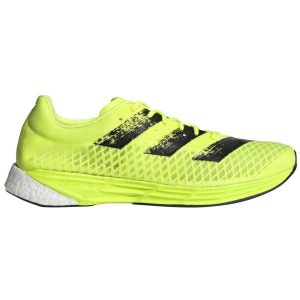Fitness Mania - Adidas Adizero Pro Mens Running Shoes - Solar Yellow/Core Black/Footwear White