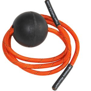 Fitness Mania - Tiger Tail 2.6 Massage Ball - Black/Orange
