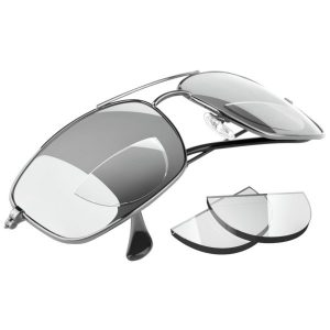 Fitness Mania - Zcifi Stick-On Bifocals - Magnifying Lenses