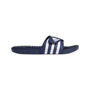 Fitness Mania - Adidas Adissage - Mens Massage Slides - Dark Blue/Footwear White