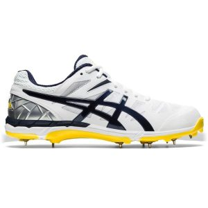 Fitness Mania - Asics Gel ODI - Mens Cricket Shoes - White/Midnight