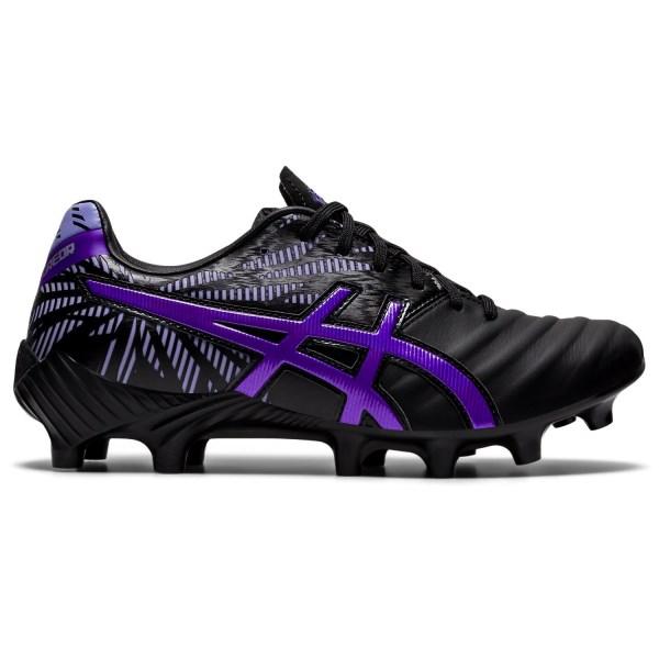 Fitness Mania – Asics Lethal Tigreor IT FF 2 – Womens Football Boots – Black/Royal Azel
