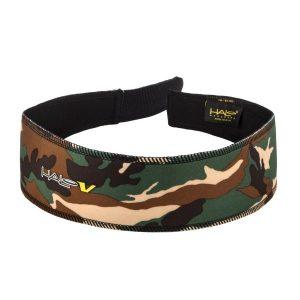 Fitness Mania - Halo V Velcro SweatBlock Headband - Green Camo