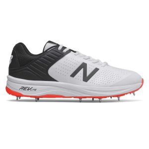 Fitness Mania - New Balance 4030v4 - Mens Cricket Shoes - White/Black/Red