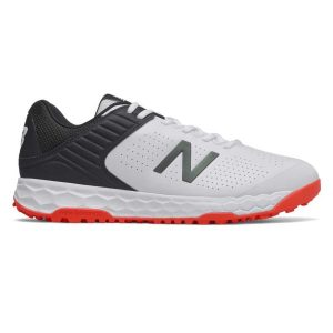 Fitness Mania - New Balance Fresh Foam 4020v4 - Mens Cricket Shoes - White/Black/Red