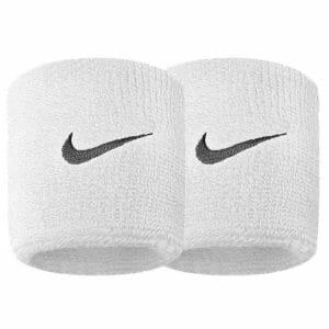 Fitness Mania - Nike Swoosh Wristbands - White/Black