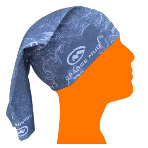 Fitness Mania - Orange Mud Multifunction Headwear - Grey