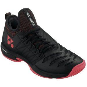 Fitness Mania - Yonex Fusion Rev 3 Mens Tennis Shoes - Black/Red