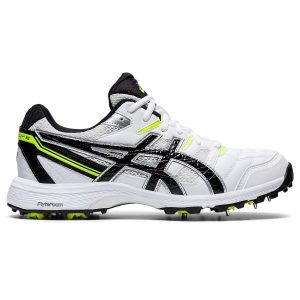 Fitness Mania - Asics Gel Gully 6 - Mens Cricket Shoes - White/Black