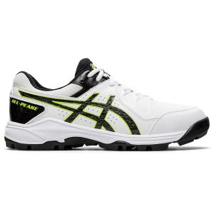 Fitness Mania - Asics Gel Peake 6 - Mens Cricket Shoes - White/Black
