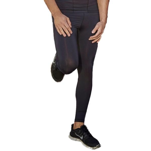 Fitness Mania – Bayse Compression Mens Training Tights – Black