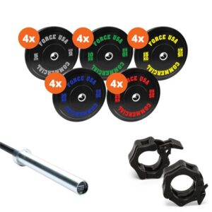 Fitness Mania - Force USA 340kg Bumper Plate Package 2