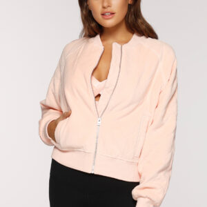 Fitness Mania - Game Changer Quilted Bomber