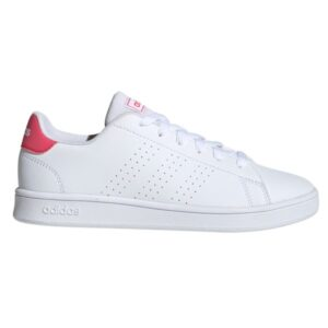 Fitness Mania - Adidas Advantage - Kids Sneakers - Cloud White/Real Pink