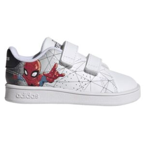 Fitness Mania - Adidas Advantage Spider-Man - Kids Sneakers - Cloud White/Core Black