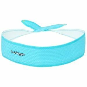 Fitness Mania - Halo I SweatBlock Headband - Tie Version - Aqua Air