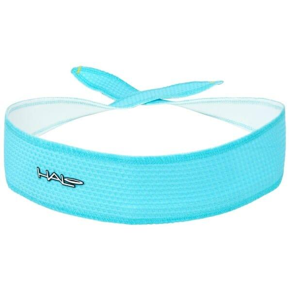 Fitness Mania – Halo I SweatBlock Headband – Tie Version – Aqua Air