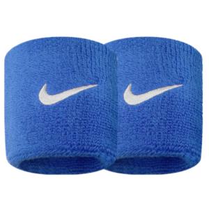Fitness Mania - Nike Swoosh Wristbands - Royal Blue/White
