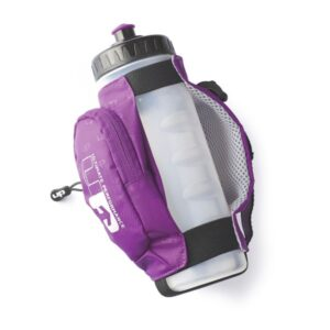 Fitness Mania - 1000 Mile UP Kielder Handheld Water Bottle - 600ml - Purple