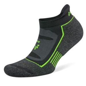 Fitness Mania - Balega Blister Resist No Show Running Socks - Charcoal/Black/Lime