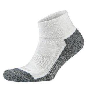 Fitness Mania - Balega Blister Resist No Show Running Socks - White/Grey