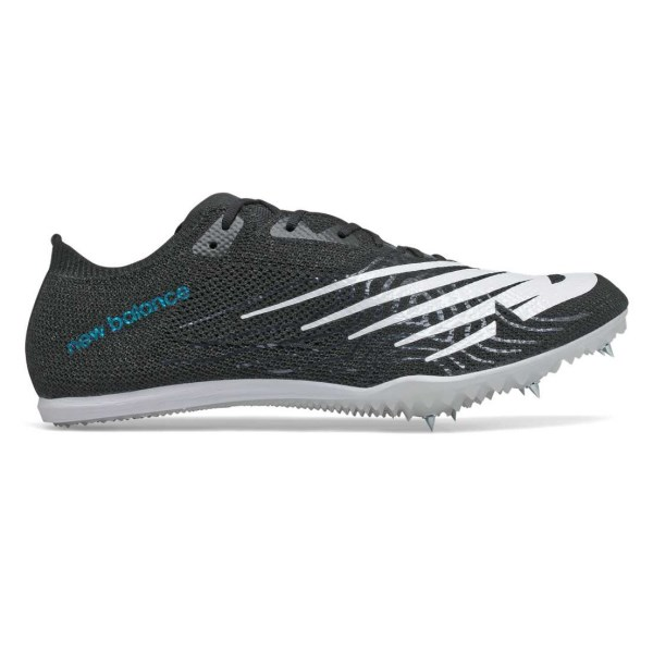 Fitness Mania – New Balance MD 800v7 – Mens Middle Distance Spikes – Black/White