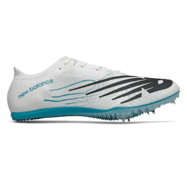 Fitness Mania – New Balance MD 800v7 – Mens Middle Distance Spikes – White/Black