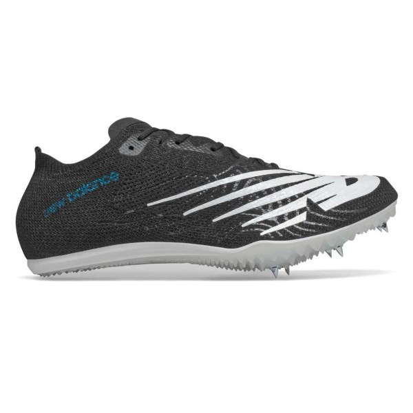 Fitness Mania – New Balance MD 800v7 – Womens Middle Distance Spikes – Black/White