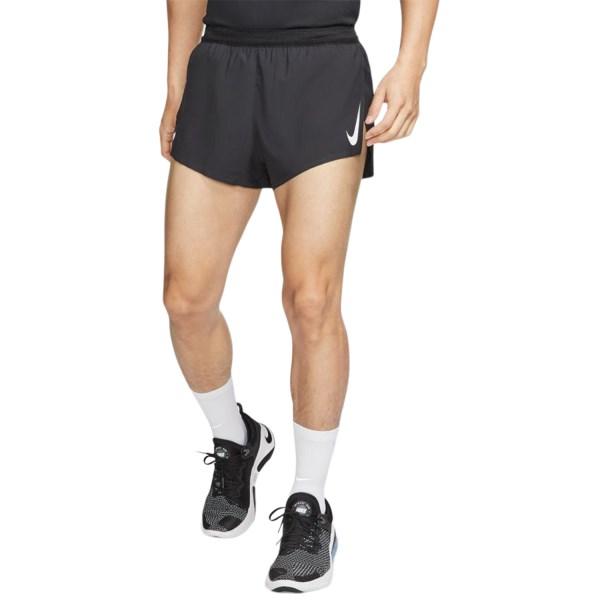 Fitness Mania – Nike AeroSwift 2 Inch Mens Running Shorts – Black/White
