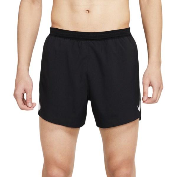 Fitness Mania – Nike AeroSwift 4 Inch Mens Running Shorts – Black/White