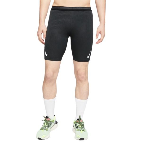 Fitness Mania – Nike AeroSwift Mens Running Half Tights – Black/White