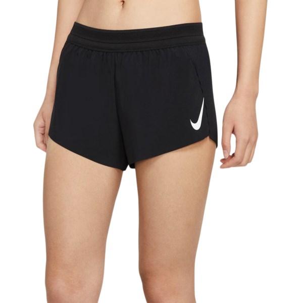 Fitness Mania – Nike AeroSwift Womens Running Shorts – Black/White