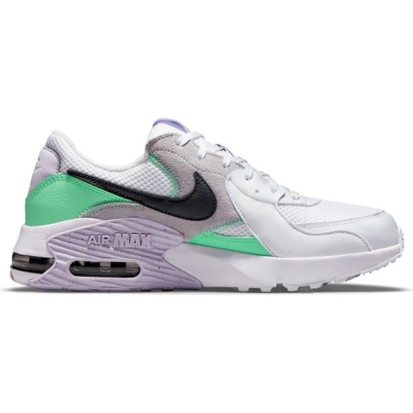 Fitness Mania – Nike Air Max Excee – Womens Sneakers – White/Dark Smoke Grey/Green Glow