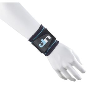 Fitness Mania - 1000 Mile UP Advanced Ultimate Compression Wrist Support with Strap - Black