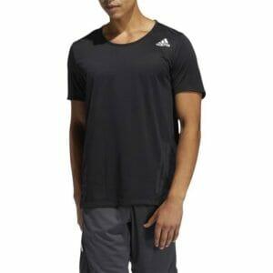 Fitness Mania - Adidas Aeroready 3-Stripes Flow Primeblue Tee Mens Black