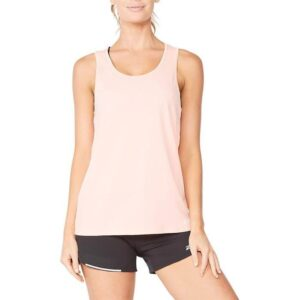 Fitness Mania - 2Xu Aero Singlet Womens Pop Coral White Reflective